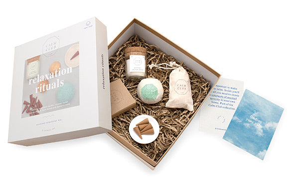 Coffret de relaxation parfumé Calm Club - Taxes incluses - 30% de rabais