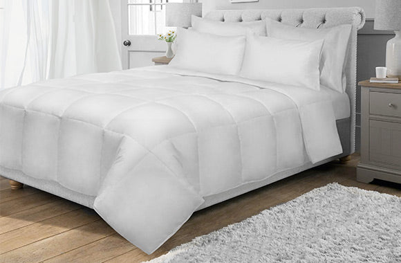 Couette 4-saisons alternative au duvet en microgel - Taxes incluses - 57% de rabais