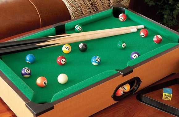 Mini-table de billard classique - Taxes incluses - 46% de rabais