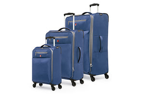 Ensemble de 3 valises de la collection Extra Lite par Swiss Gear - Taxes incluses - 42% de rabais