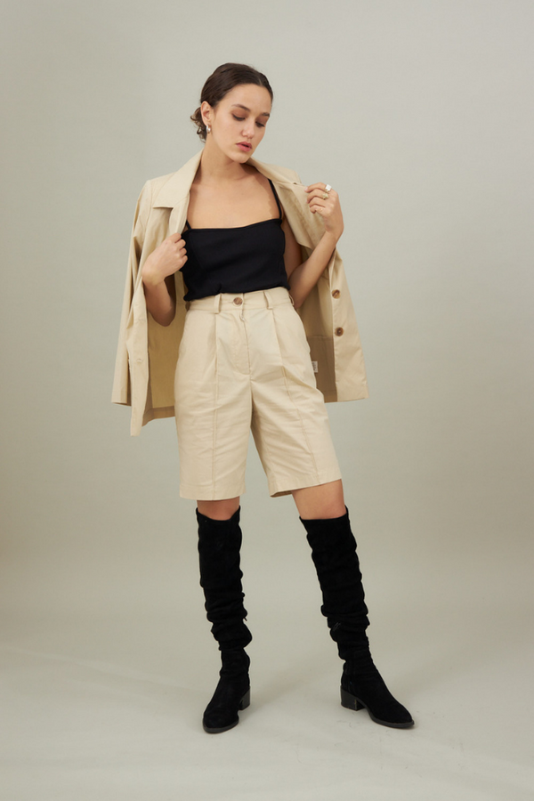 Mary Blazer - Beige color