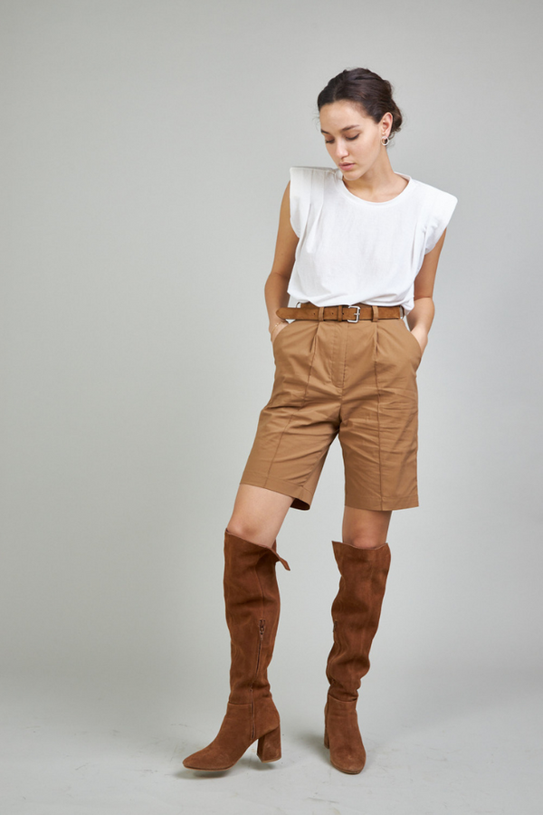 Mary Pants - Brown color