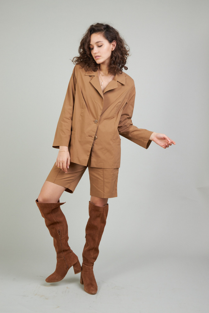 Mary Blazer - Brown color