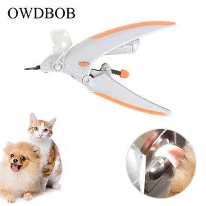 Pet Nail Clipper With LED Light & Magnifier