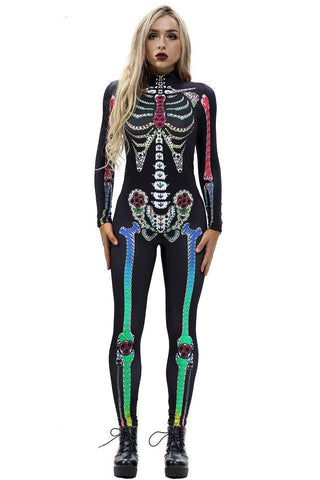Rainbow Skeleton