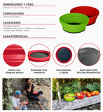 Set 2 Bowl Plegables Lucuma - Atakama Outdoor