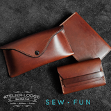 Atelier Lodge x Sew Fun - Leather & Canvas Workshop