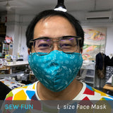 SEW FUN Face Mask Pattern (sizes XS to XL)