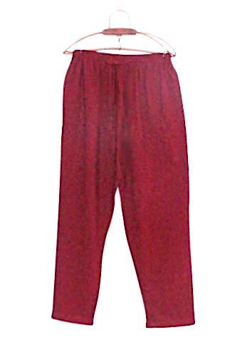 Ochre red trouser