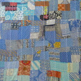 Sunburnt Blue vintage patchwork