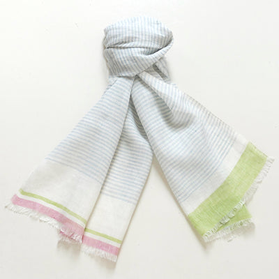 Raspberry Lime Sublime scarf