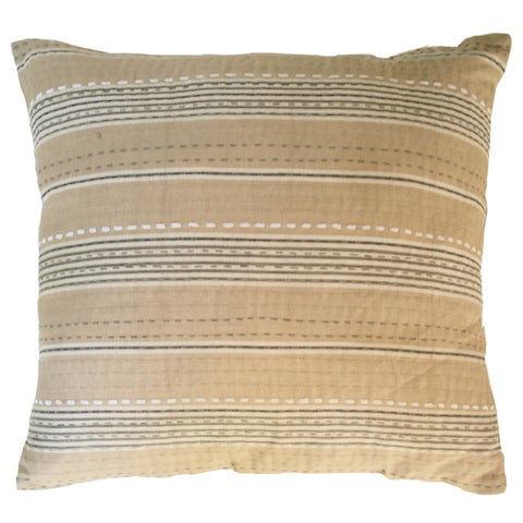 Camel Stripe Cushion