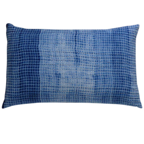 Fade to Blue cushion