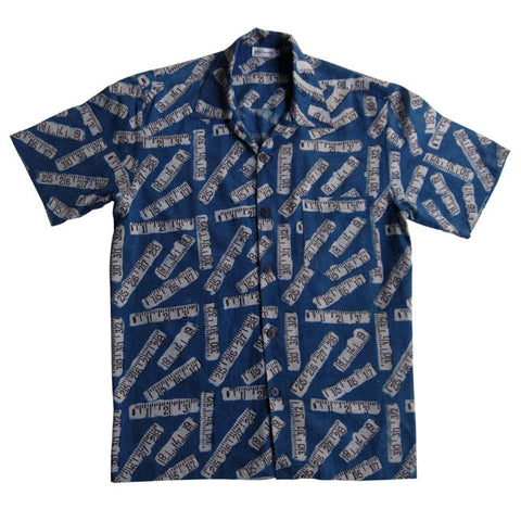 Indigo Tape Measure Shirt