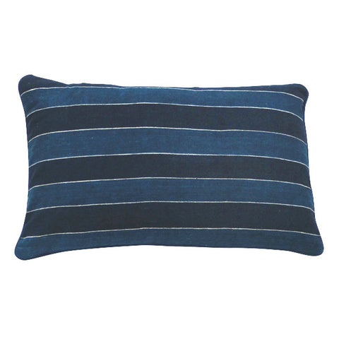 Midnight Stripe cushion