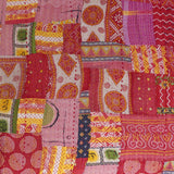Red Hot Mama patchwork quilt