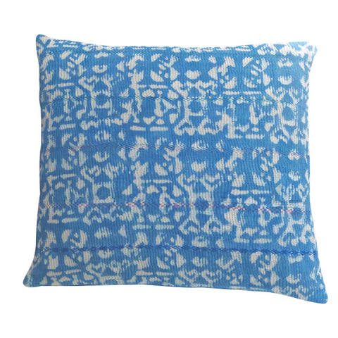 Azure cushion