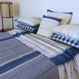 Small Blue Check quilt
