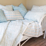 Prussian teal quilt