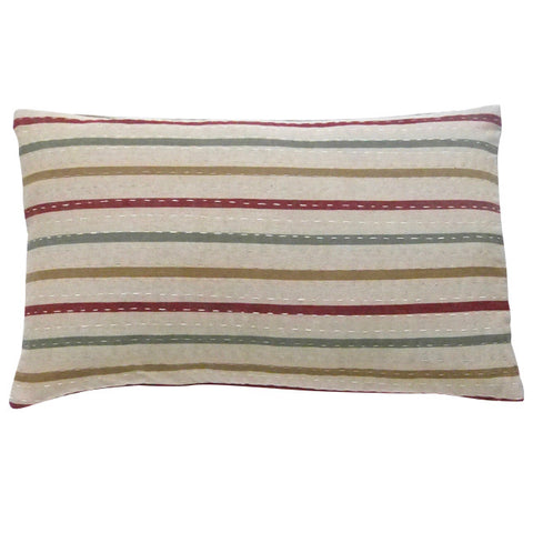 Sage and Ginger cushion (2)
