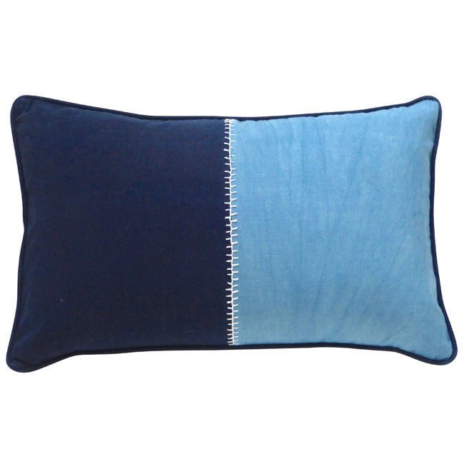 Blue Notes cushion