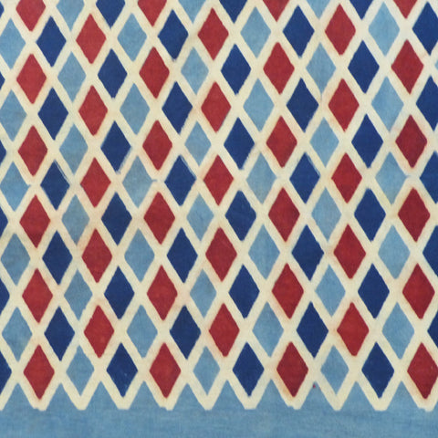 Harlequin tablecloth