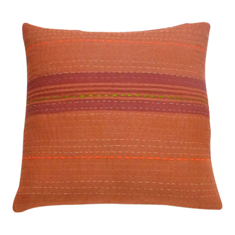 Cinnamon Stripe cushion