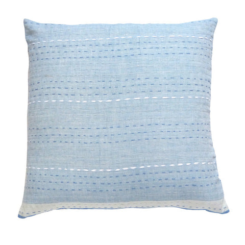 Pale Blues cushion