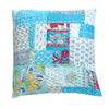 Caribbean Patchwork cushion (1)