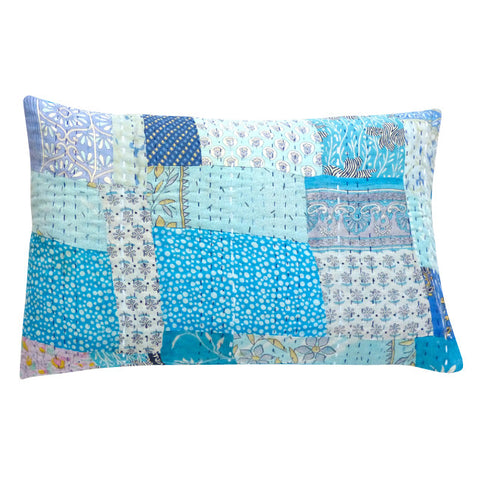 Caribbean Patchwork cushion (2)