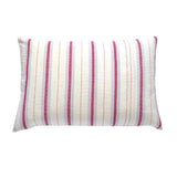 Red Ticking Cushion (2)