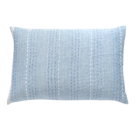 Pale Blues cushion (2)