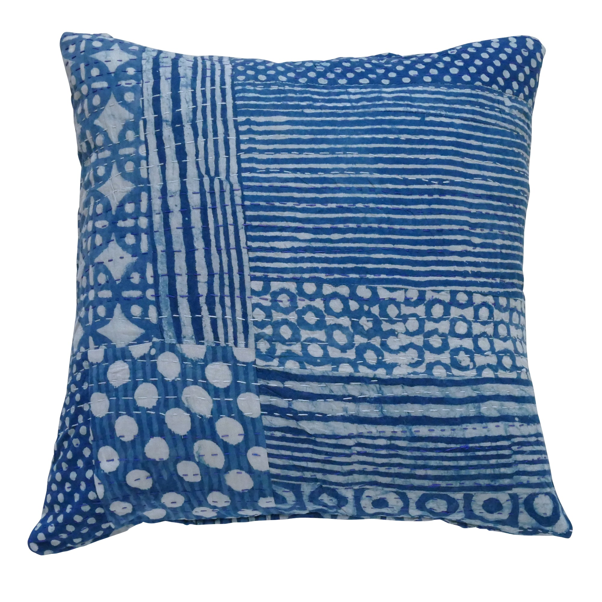 Blue Circle cushion