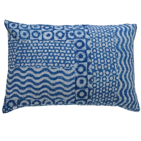 Blue Valentine cushion