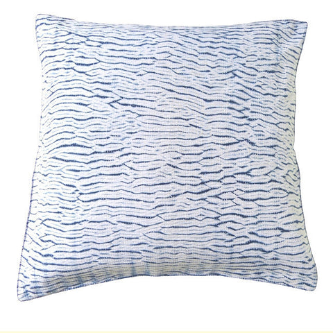 White Indigo Shibori cushion (1)