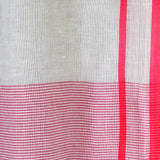 Red/Grey Gingham Sarong