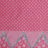 Pink Moderne throw
