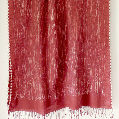 Burnt Sienna shawl