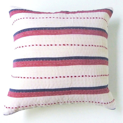 Red and Blue Cushion