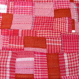 Red Check Patchwork Quilt