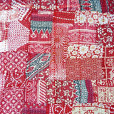 Wild and Wicked Vintage Sari Quilt