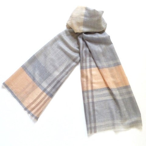 Shades of Gray Pashmina