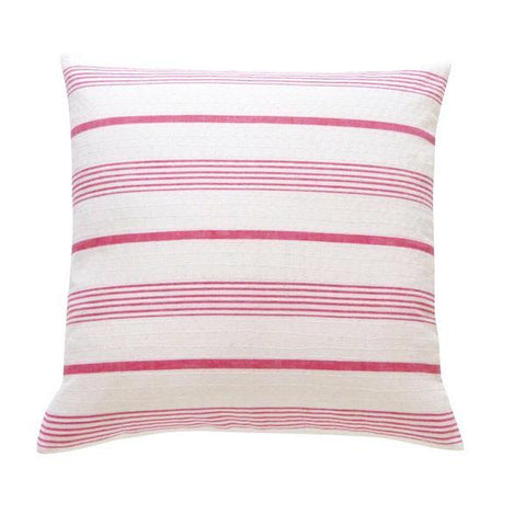 Stone and Red Ticking cushion ( 1)