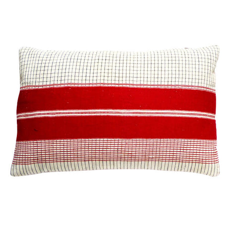 Crimson cushion