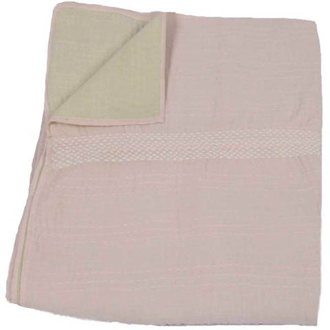Pale Pink and Mint Quilt