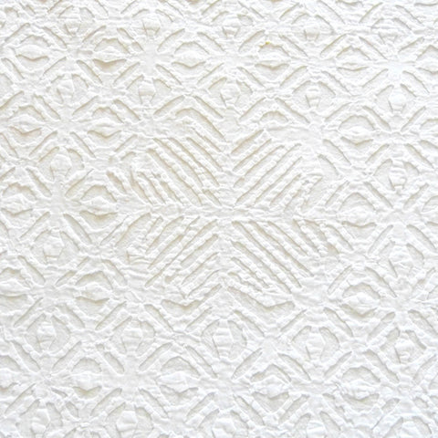 White on White Applique Bedcover