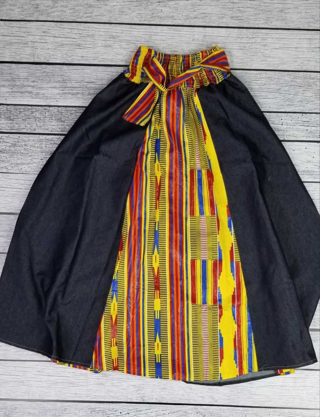 African Skirt w/ Scarf