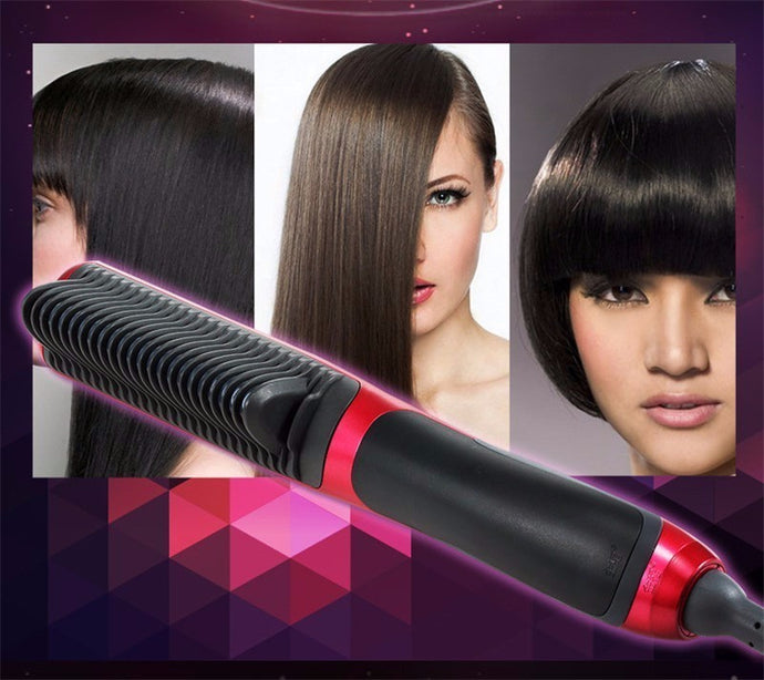 Negative Ion (Anion) Ceramic Straight Hair Comb
