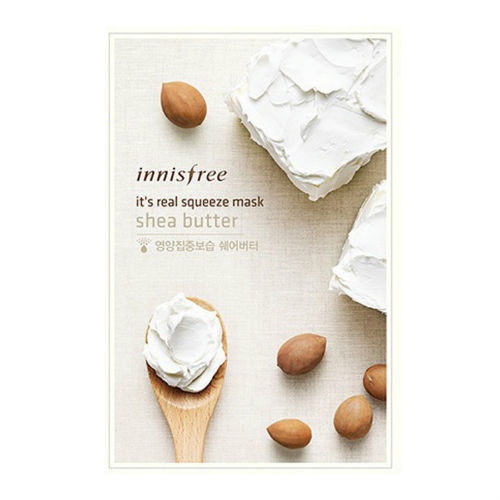[Made in KOREA] Innisfree - Shea Butter Moisturizing Mask Sheet