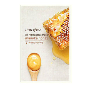 [Made in KOREA]  InnisFree - Manuka Honey Moisturizing Mask Sheet